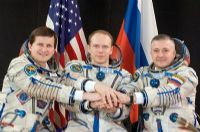 International Space Station Expedition 15 Official Crew Photograph #4